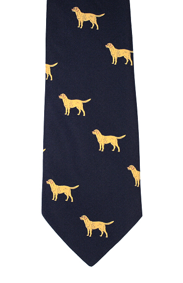 Dog Ties - Themed Dog Neckties, Labradors, Spaniels - Elegant Extras