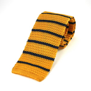 Silk Knitted Ties - Striped & Plain