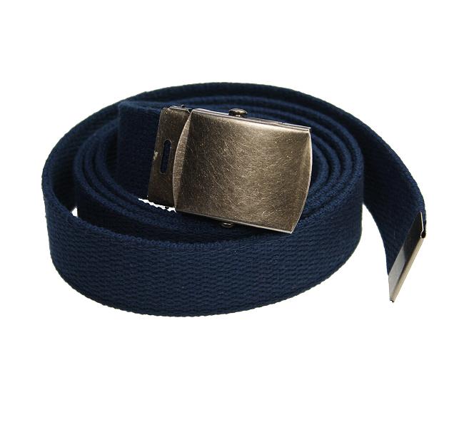 3f5b16e84cc9 Men s Adjustable Navy Blue Web Belt - Elegant Extras